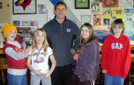 Me and some of the kids I Coached at Stephenson Elementary School back in 2008